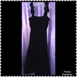 Oscar de la Renta, shoulder-bow cocktail dress